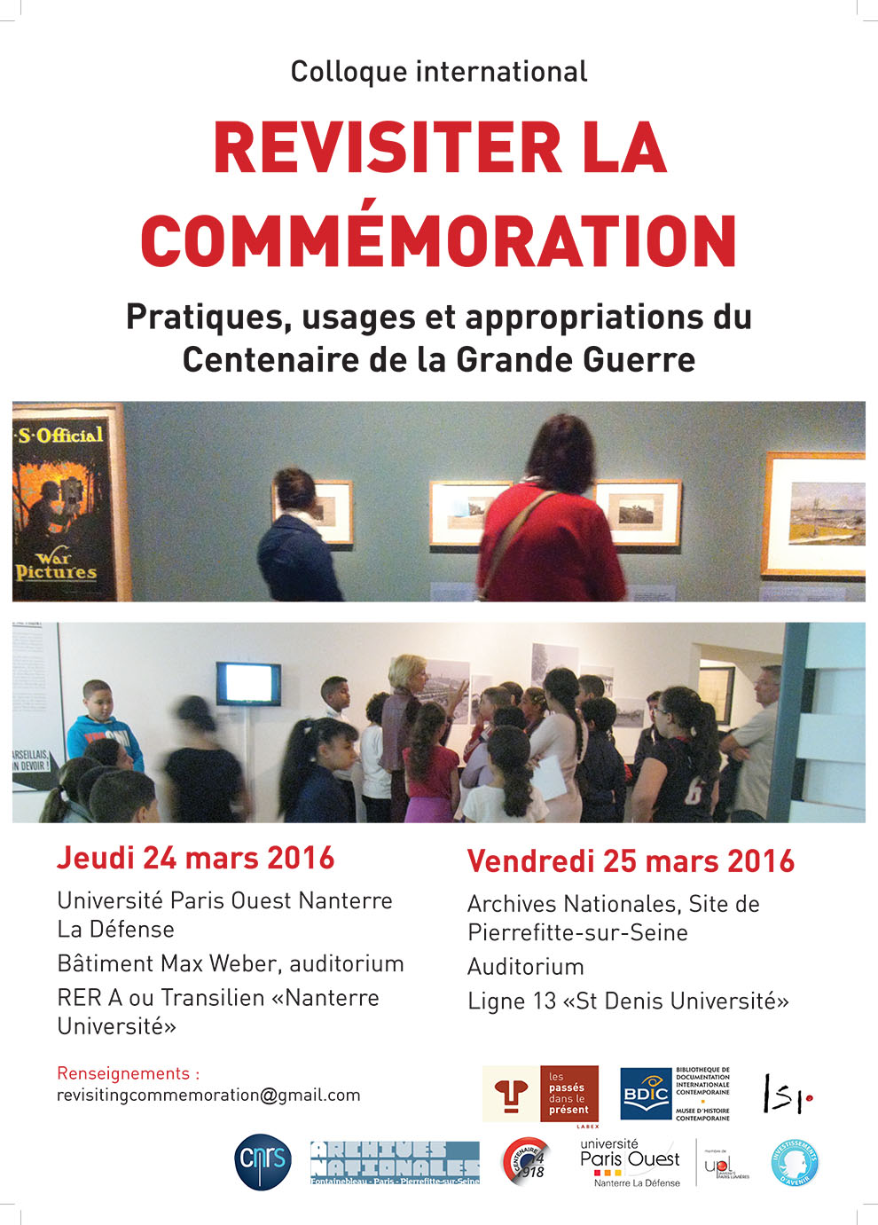 Coll Commemorations affiche